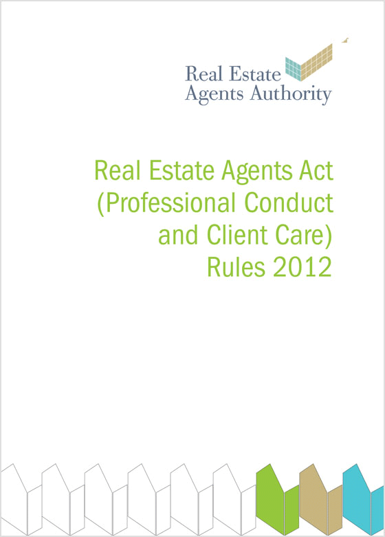 REAA Code of Conduct 2012
